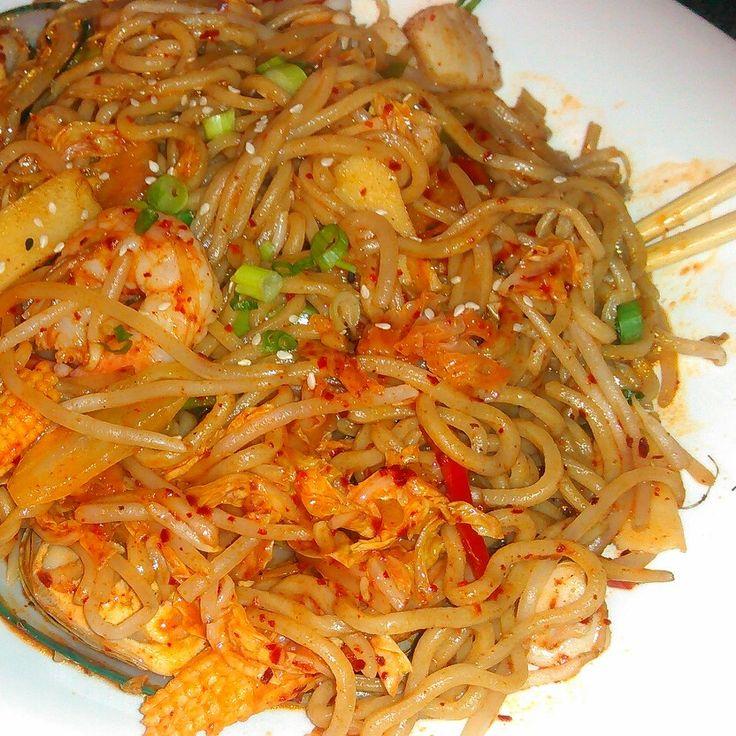 #seafood#noodle#Korea#yummy