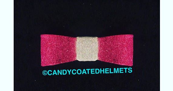 Candy Coated Pink Fairy Motorcycle Helmet Bow