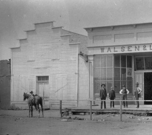 The Walsen and Levy store at Walsenburg :: Western History