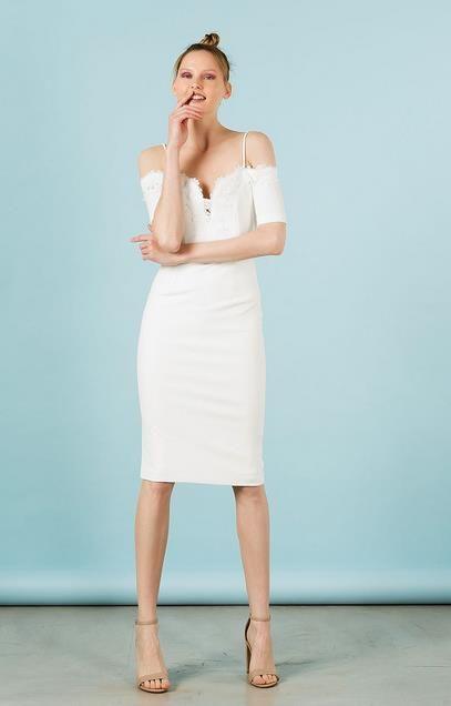 69a7332b52a Γυναικεία κολεξιόν BSB για την Άνοιξη-Καλοκαίρι 2018   Γυναίκεια μόδα και  Ρούχα - Fashion (moda)   White dress, Fashion και Dresses