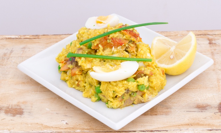 Delightfully Kedgeree- breakfast and lunch