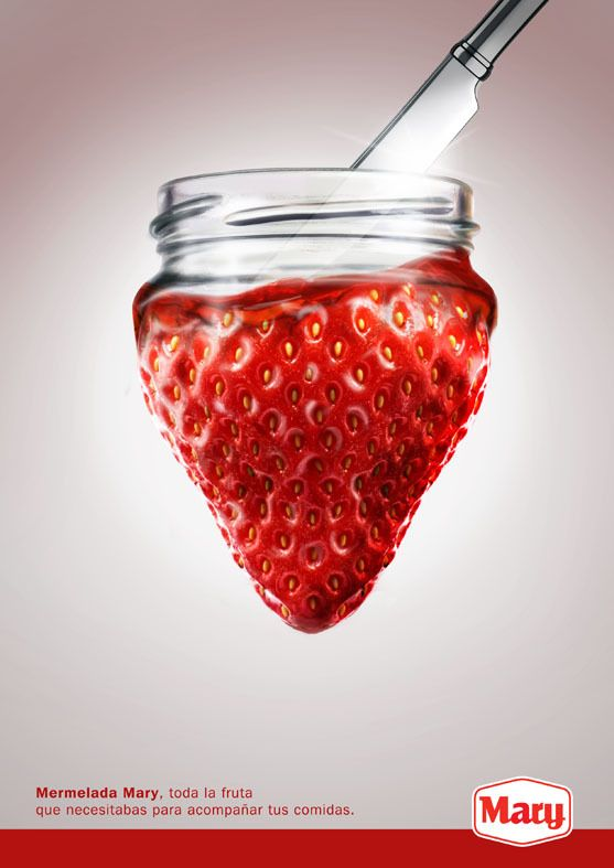 MaryJelly on Behance #fraise #confiture
