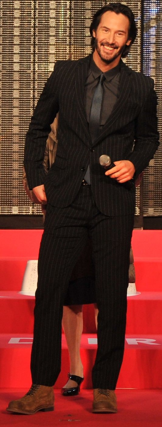 Keanu attended the world premiere of 47 Ronin in Tokyo on 11/19/2013