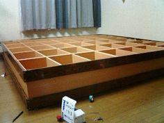 小上がり畳 IKEAの何かで作れないかなぁ・・・