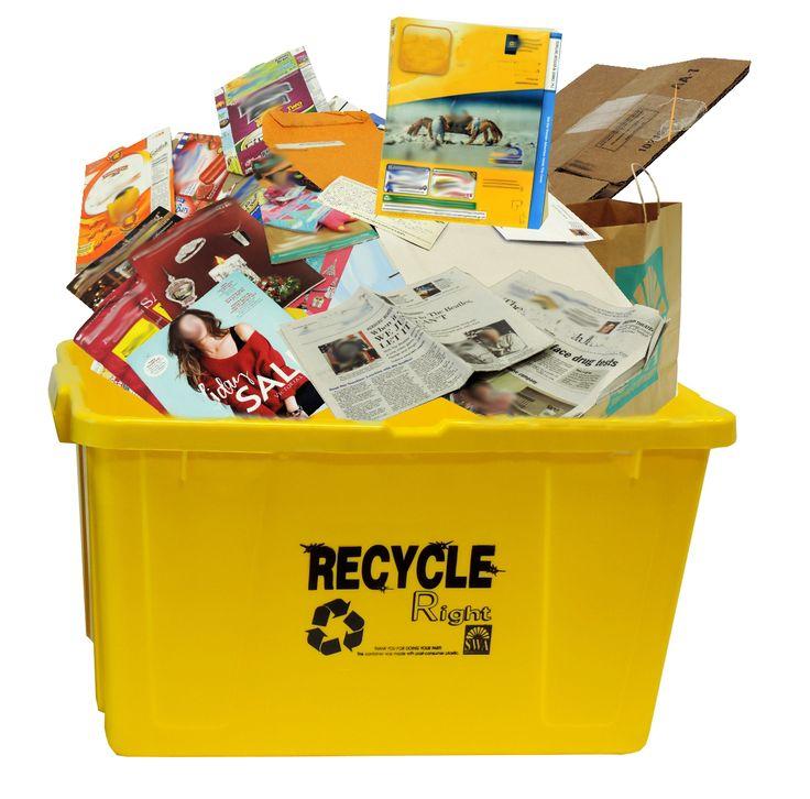 West Palm Beach Recycling Bins
