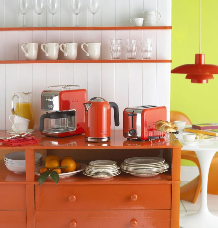 Kenwood kMix Boutique 2-Slot Toaster, Bright Orange