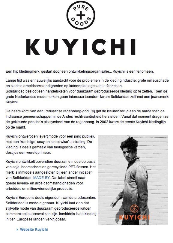 Kuyichi omschrijving