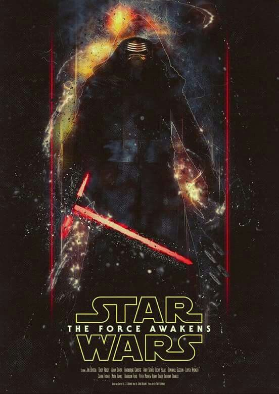 Star wars episode VII, The force awakens art