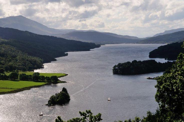Les lochs écossais - Loch Lomond Trossachs Ecosse