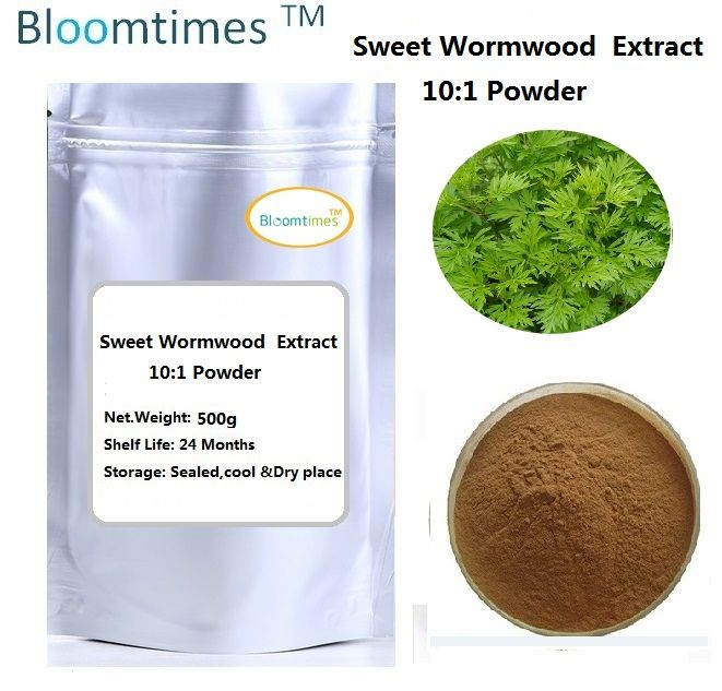 Free shipping 500g Sweet Wormwood Herb Artemisia annua Extact powder