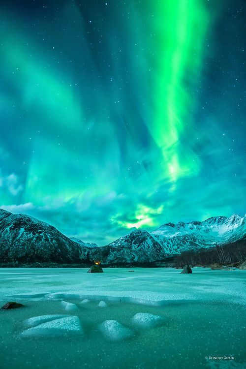 "-vvaste: "" (via 500px / Norway Aurora-Borealis II by Reinold Gober) "" aurora"
