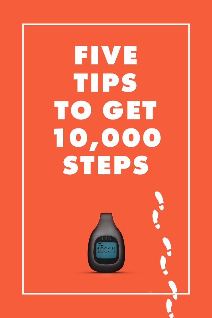 Five Tips to get 10,000 steps / eBay