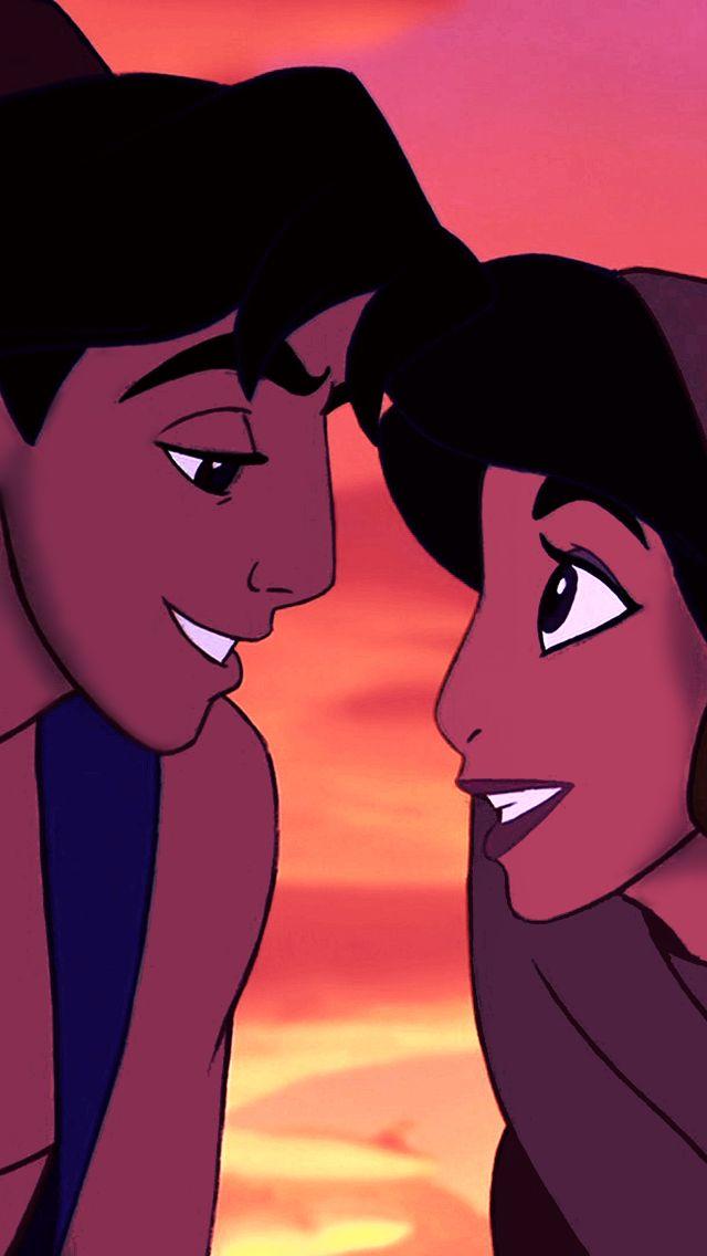 Aladdin and Jasmin