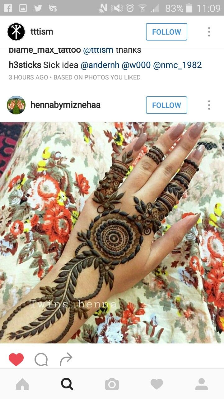 1000 Images About Mehendi On Pinterest