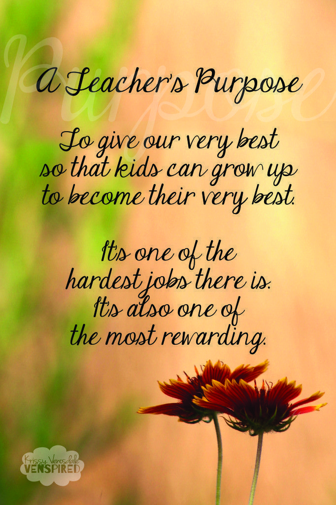 INSPIRATIONAL TEACHER QUOTES FOR FIRST DAY OF SCHOOL image ...