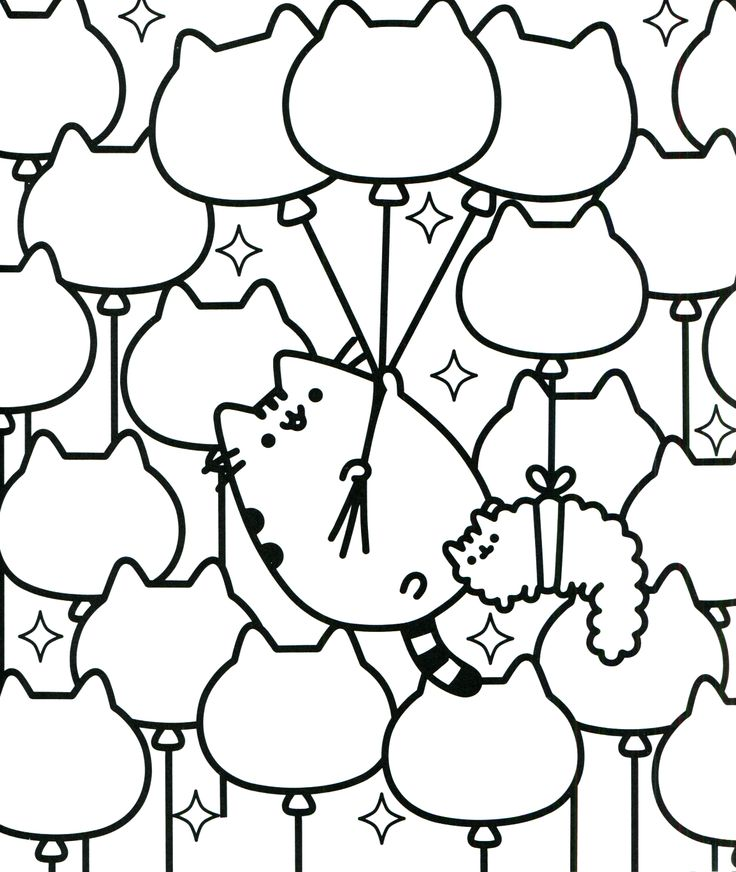 Coloring Pages Pusheen : Best images about coloring pages on pinterest