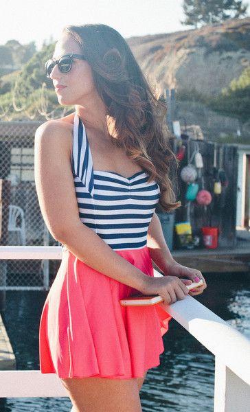 Love this swimsuit from Rey Swimwear!