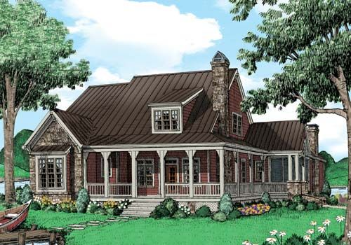Kettle river home plans and house plans by frank betz for Laurel river house plan