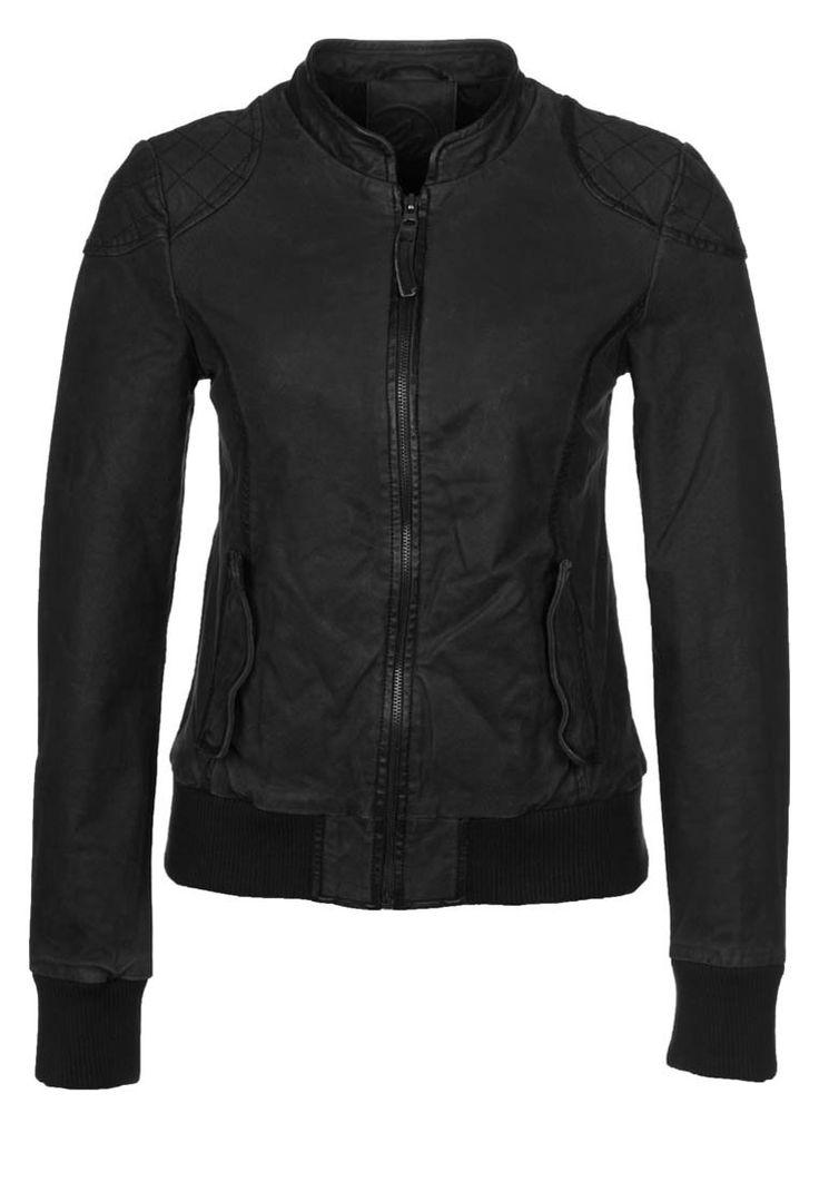 Maze SEDALIA Leather jacket black