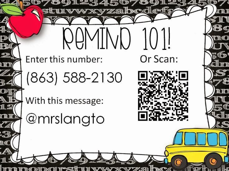remind 101: App that allows you to communicate with parents/students via text/email. Would be good for quick reminders. No phone numbers are shown both ways! Using a QR code to get the parents there is brilliant!