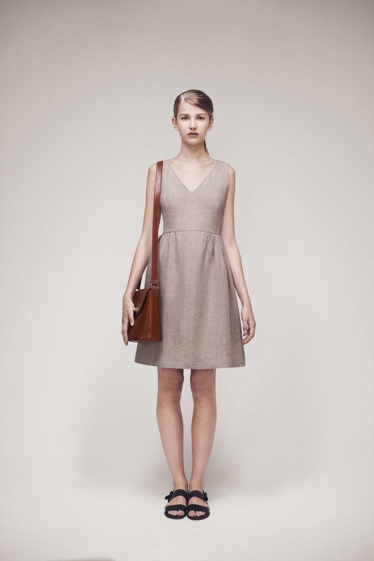 Marcie Dress and Bucket Bag | Samuji SS15 Classic Collection