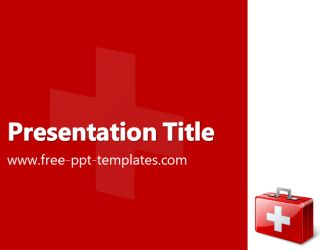 First Aid PowerPoint Template is a red template with appropriate image of first aid kit which you can use to make an elegant and professional PPT presentation. This FREE PowerPoint template is perfect for topics about first aid.