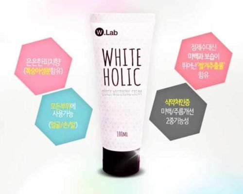 Guys if you're having a problem with your dark and dry skin, you should try this amazing WHITE HOLIC. This product has a immediate whitening effect, whitening elasticity, blemish care, skin hydration , and it is certified by FDA. Don't be get stressed worrying about your skin or getting insecure from other skin. This is what you need. In just a single touch and several times of using it, you will already witness the changes. Be beautiful, blooming and classy.