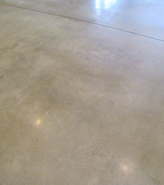 Polished Concrete color