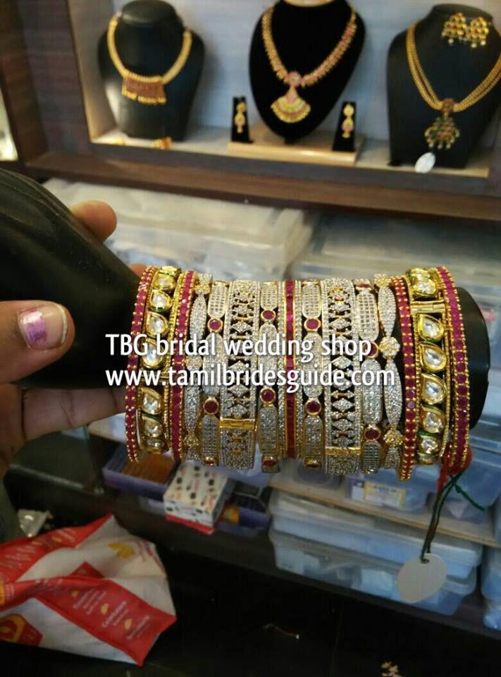 #southindianweddings tbgbridalweddingstore bridaljewelry southindianjewelry bridalbangles banglecollection studdedbangles bangles
