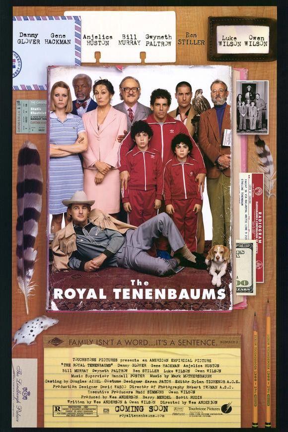 The Royal Tenenbaums 11x17 Movie Poster (2001)