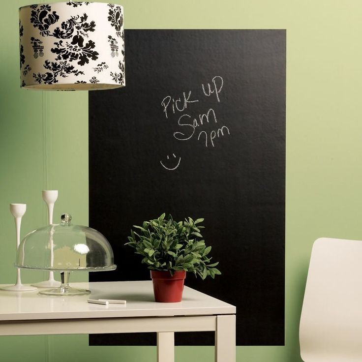 Big Peel & Stick Chalkboard | Stickies & Wall Decals Gifts | chapters.indigo.ca