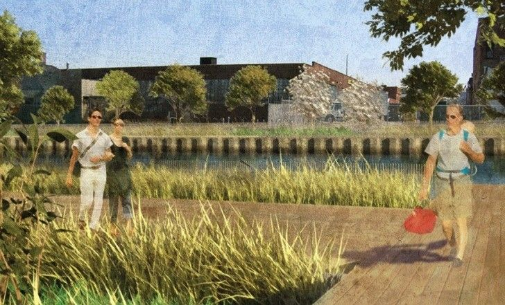"Gallery of Brooklyn to Transform Canal Into ""Sponge Park"" - 2"
