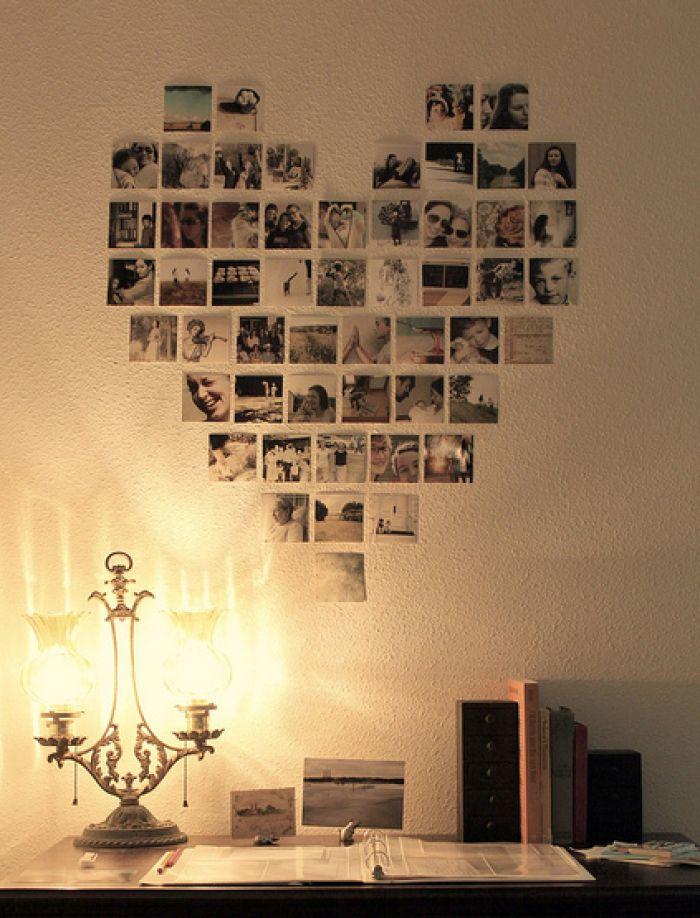 foto's aan muur