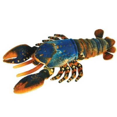 """14"""" Lobster Plush at theBIGzoo.com, a toy store featuring 3,000+ stuffed animals."""