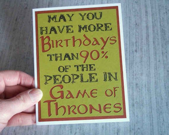 """Game of Thrones Card 