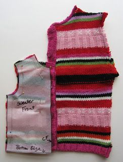 A Doll for all Seasons: How to recycle a baby sweater for your doll