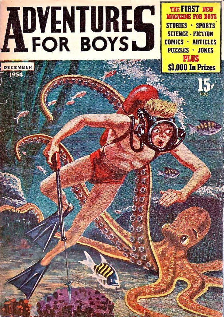 Scuba porn magazine cover — img 14