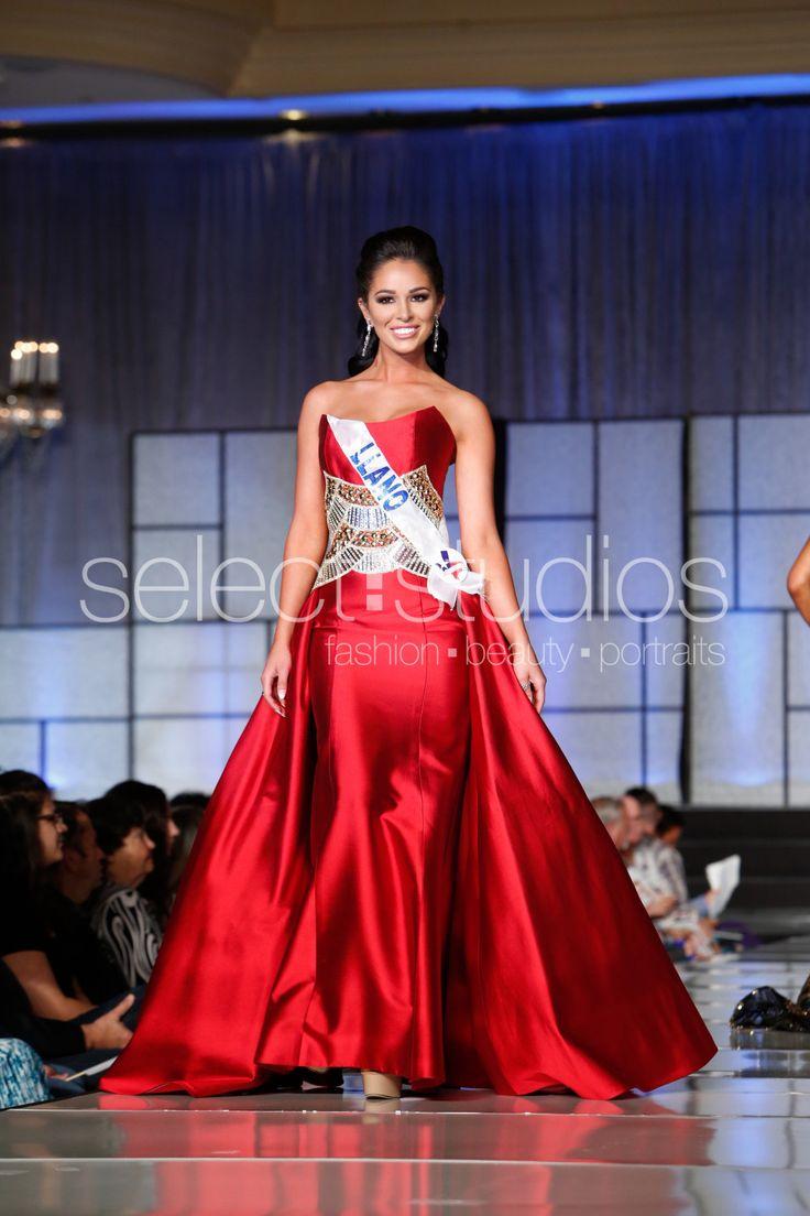 Miss Llano 2016 from Texas wearing custom Gionni Straccia