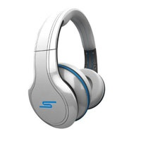 SMS Audio STREET by 50 Cent Wired Over-Ear Headphones (Whi (SMSWDWHT)