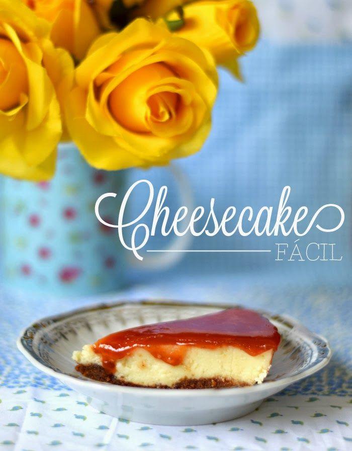 {cozinha preguiçosa} Cheesecake fácil - Ricota Não Derrete