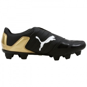 SALE - Puma V-Kon Soccer Cleats Mens Black Leather - Was $55.00 - SAVE $28.00. BUY Now - ONLY $27.49