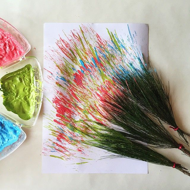 Natural Paintbrushes | @oliviasfoster