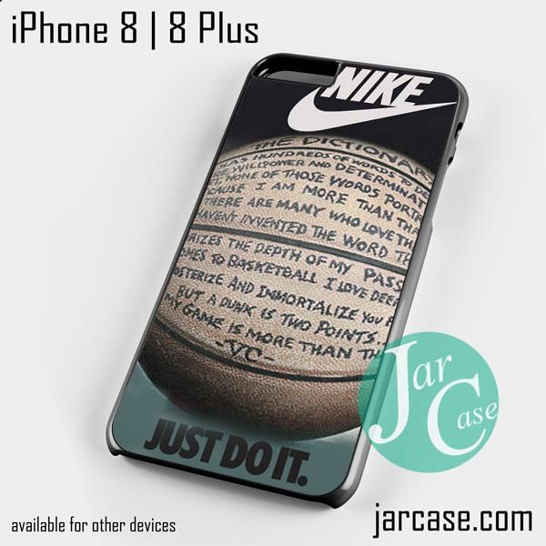 nike basketball quote Phone case for iPhone 8 | 8 Plus