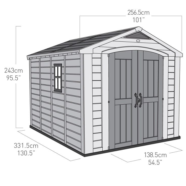 Keter Shed Instructions  #Instructions #Shed Check more at http://pots4you.xyz/keter-shed-instructions/