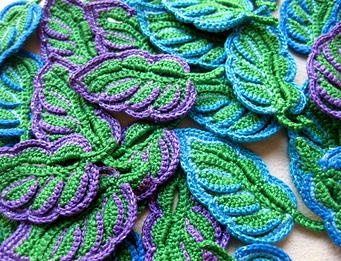 This is crochet, Irish Crochet, to be exact. Love, love, love this! You can find this pattern at www.irishcrochetlab.com