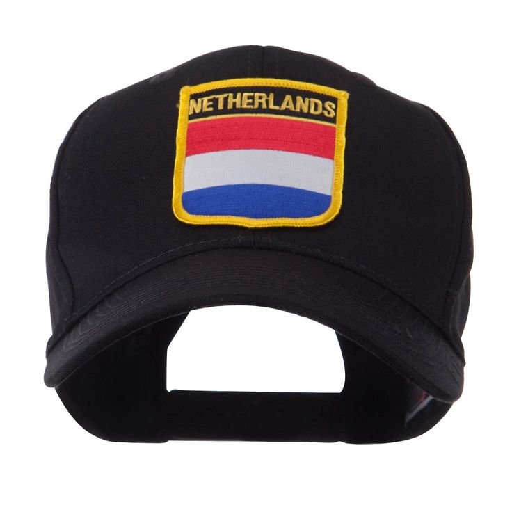Europe Flag Shield Patch Cap - Netherlands