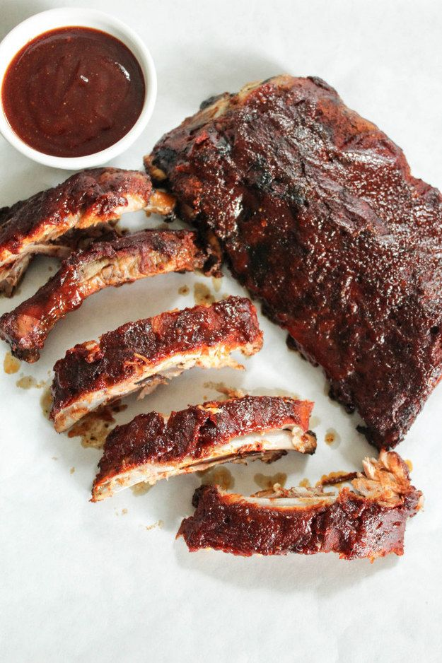 Tender slow cooker ribs that fall off the bone.   26 Make-Ahead Foods Perfect For A Spring Picnic