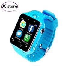 Дети Безопасности Anti Потерянный GPS Трекер smart watch V7K 1.54 ''С камерой facebook Дети SOS Аварийного Для Iphone & Android PK Q90 //Цена: $30 руб. & Бесплатная доставка //  #technology #tech