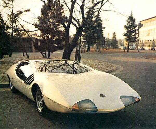 60's Toyota concept car