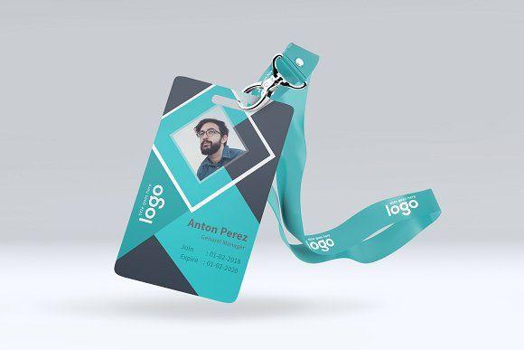 Creative Id Card Design Template Card Design Identity Card Design Employees Card